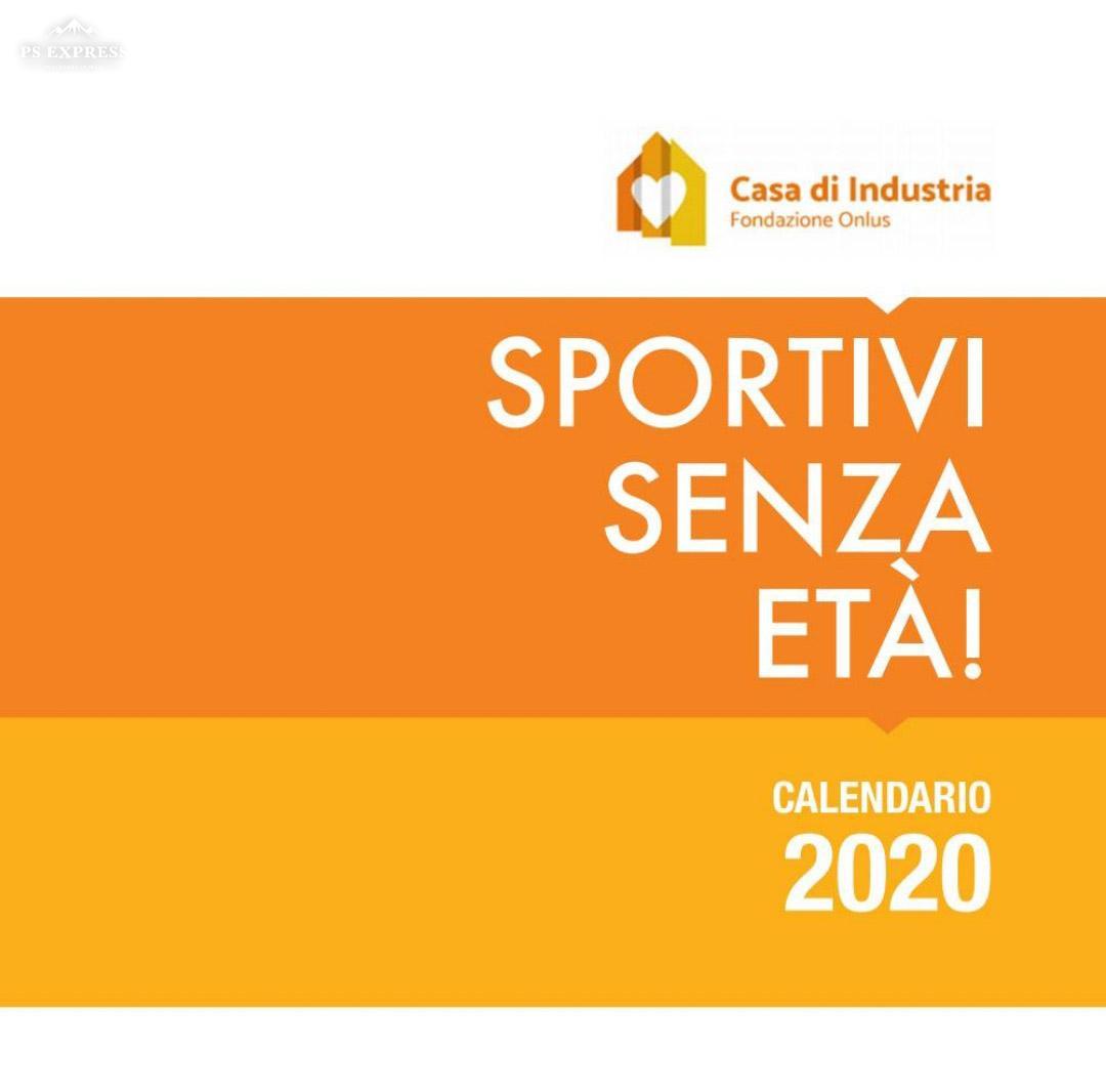 Presentazione Calendario 2020 SPORTIVI SENZA ETA'!